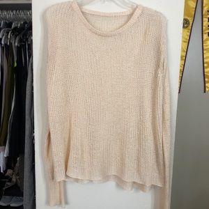 Brandy & Melville light peach sweater